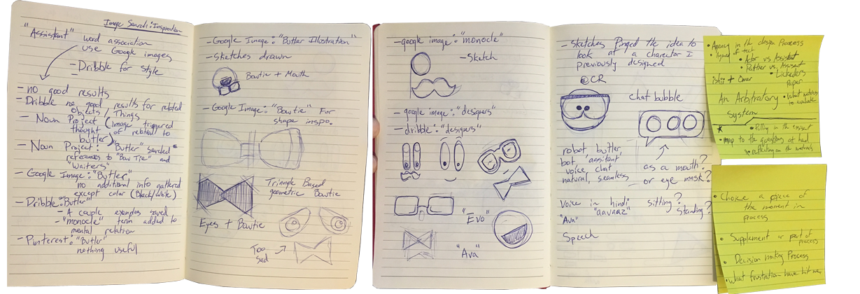 Image Search Walkthrough Sketches