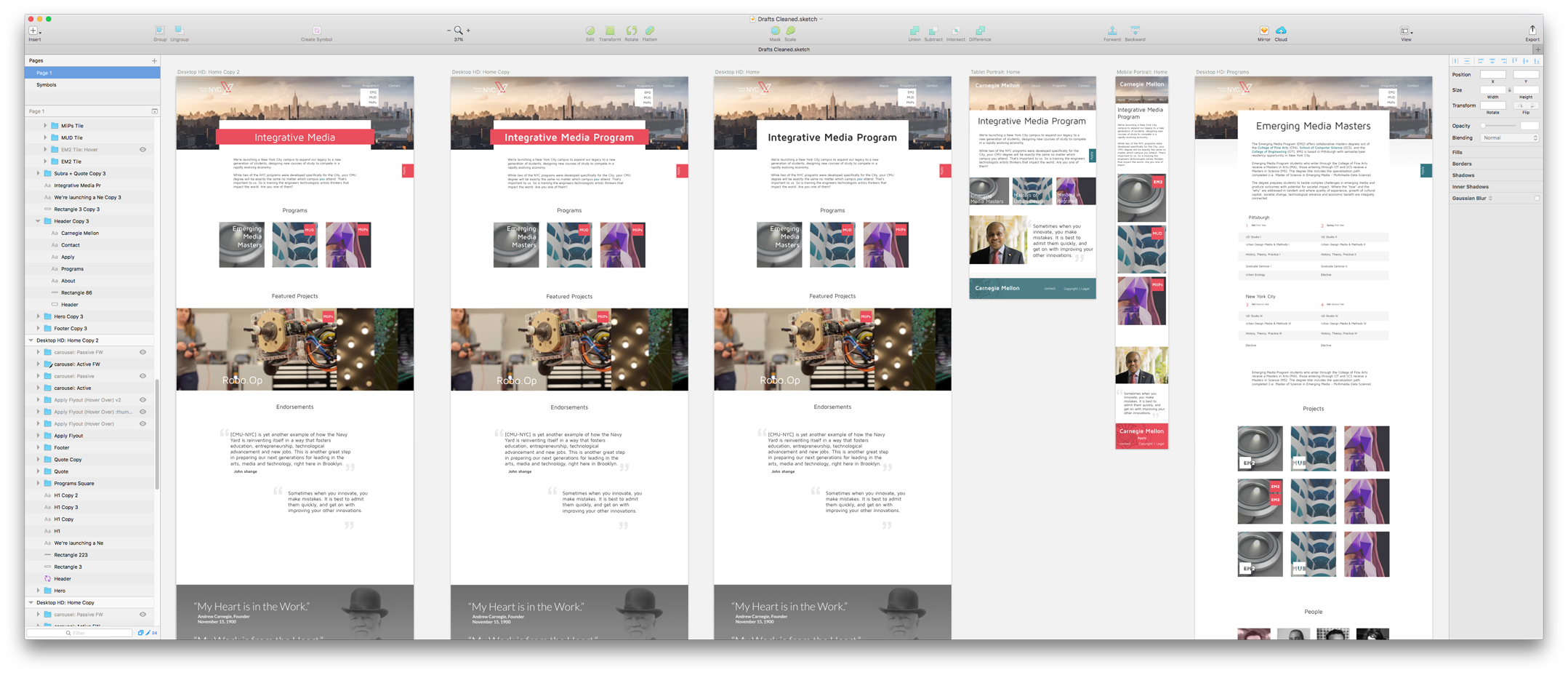 Page Iterations