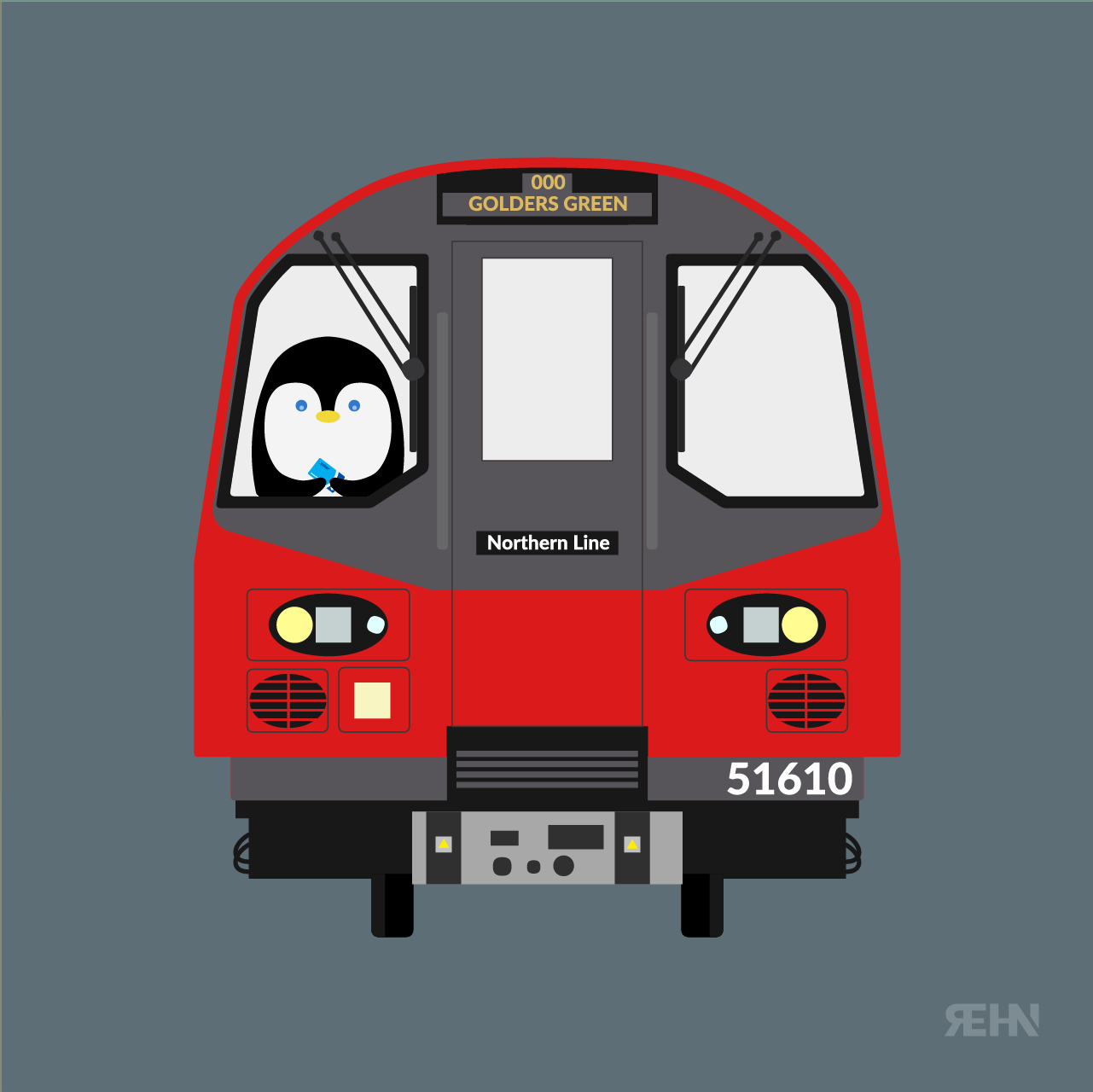 Penguin + Tube