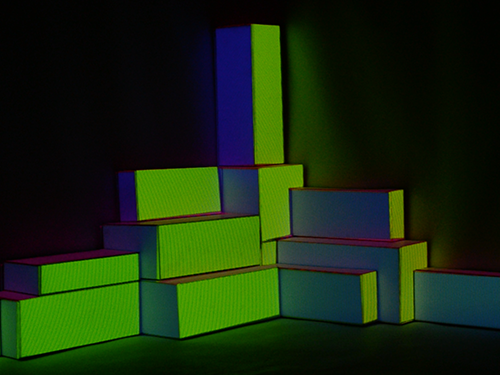 Projection Mapping Tile Image