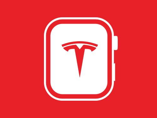 Tesla Watch App Tile Image